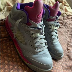 Jordan retro 5's